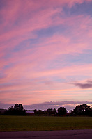 Pastel Sky at Dawn. 3 of 13 Images taken with a Leica X2 camera and 24 mm f/2.8 lens (ISO 125, 24 mm, f/2.8, 1/30 sec). Raw images processed with Capture One Pro and the panorama generated using AutoPano Giga Pro.