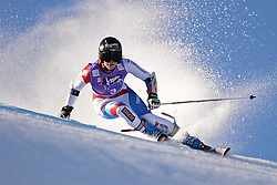 26.10.2013, Rettembach Ferner, Soelden, AUT, FIS Ski Alpin, FIS Weltcup, Ski Alpin, 1. Durchgang, im Bild Lara Gut from Switzerland races down the course // Lara Gut from Switzerland races down the course during 1st run of ladies Giant Slalom of the FIS Ski Alpine Worldcup opening at the Rettenbachferner in Soelden, Austria on 2012/10/26 Rettembach Ferner in Soelden, Austria on 2013/10/26. EXPA Pictures © 2013, PhotoCredit: EXPA/ Mitchell Gunn<br /> <br /> *****ATTENTION - OUT of GBR*****
