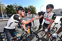 Arrival, BOASSON HAGEN Edvald (NOR)/ PAUWELS Serge (BEL)/ HAAS Nathan (AUS) during the 7th Tour of Oman 2016, Stage 5, Yiti (Al Sifah) - Ministry of Tourism (119,5Km) on February 20, 2016 - Photo Tim de Waele / DPPI