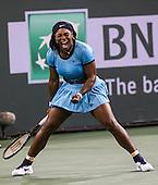 Tennis: BNP Paribas Open 2016 Serena Williams vs Agnieszka Radwanska