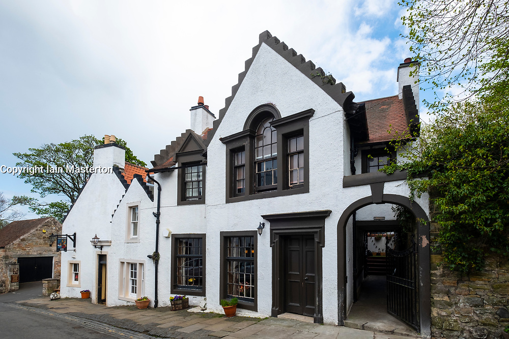 The Cramond Inn in village of Cramond in Edinburgh, Scotland, UK