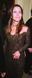 MISS KOO STARK, a former close friend of HRH The Duke of York, at a party in London on 4th February 1999.MNY 46