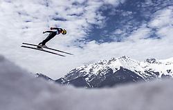 23.02.2019, Bergiselschanze, Innsbruck, AUT, FIS Weltmeisterschaften Ski Nordisch, Seefeld 2019, Skisprung, Herren, im Bild Evgeniy Klimov (RUS) // Evgeniy Klimov of Russian Federation during the men's Skijumping HS130 competition of FIS Nordic Ski World Championships 2019. Bergiselschanze in Innsbruck, Austria on 2019/02/23. EXPA Pictures © 2019, PhotoCredit: EXPA/ JFK