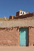 Machuca Village, Located near the Tatio Geysers, Atacama Desert, Chile, South America