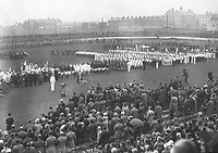 H917 Aonach Tailteann Athletics - Croke Park. View of field. 1928. (Part of the Independent Newspapers Ireland/NLI Collection)