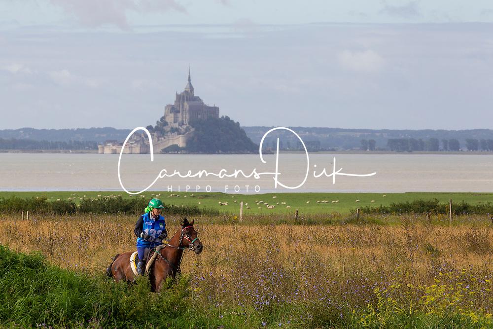 Brigitte Pinto, (POR), Shararat - Endurance - Alltech FEI World Equestrian Games™ 2014 - Normandy, France.<br /> © Hippo Foto Team - Leanjo De Koster<br /> 28-08-14