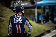 #64 (LONG Nicholas) USA at the 2016 UCI BMX World Championships in Medellin, Colombia.