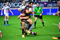 Yoann HUGET / Alexandre FLANQUART - 24.04.2015 - Stade Francais / Stade Toulousain - 23eme journee de Top 14<br />