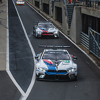 #81, #82, BMW Team MTEK, BMW M8 GTE, LMGTE Pro, driven by: Martin Tomczyk, Nicky Catsburg at FIA WEC Silverstone 6h, 2018 on 17.08.2018