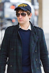 Andrej Uspenski, 38, arrives at Westminster Magistrates Court in London for sentencing. The Royal Ballet photographer admitted to charges of harassment without violence after he sent his ex girlfriend Tatjana Novitjenko a sex toy and a picture of her dog 'drowning' during a campaign of harassment that lasted three months. London, February 22 2018.