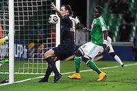 Goal Zlatan IBRAHIMOVIC - 13.01.2015 - Saint Etienne / Paris Saint Germain - 1/4Finale Coupe de la Ligue<br />Photo : Jean Paul Thomas / Icon Sport