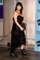 © Licensed to London News Pictures. 16/11/2016. DAISY LOWE attends the Skate At Somerset House with Fortnum & Mason VIP Party. London, UK. Photo credit: Ray Tang/LNP