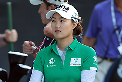 May 26, 2018 - Ann Arbor, Michigan, United States - MinJee Lee of Australia finished the third round of the LPGA Volvik Championship at Travis Pointe Country Club, Ann Arbor, MI, USA Saturday, May 26, 2018. (Credit Image: © Jorge Lemus/NurPhoto via ZUMA Press)