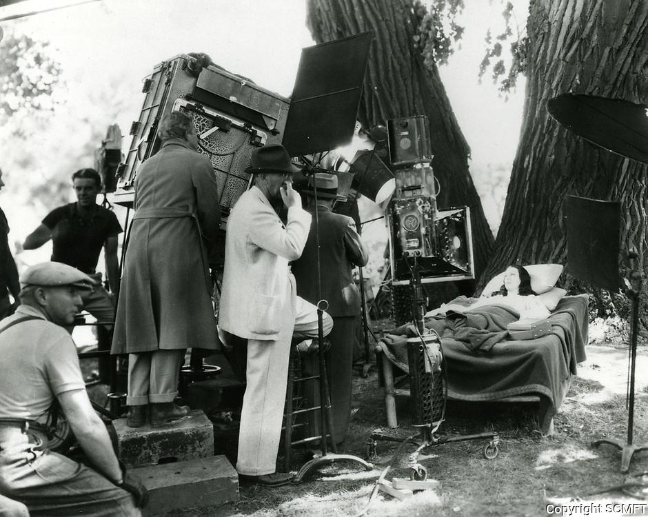 1936 Filming at Warner Bros. Studios