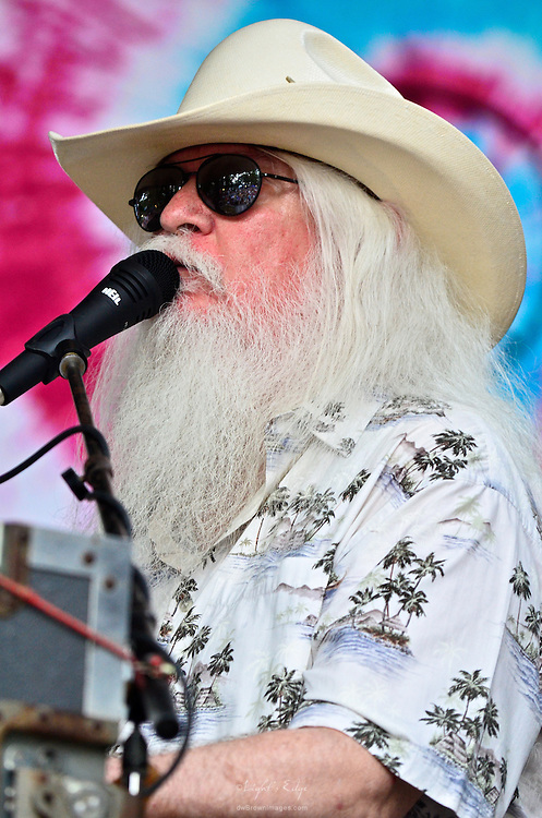 Leon Russell performing at the 2011 Southern Shore Music Festival in Millville, NJ.