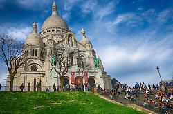 Basílica de Sacré Coeur, Montmartre, Paris. FOTO: Jefferson Bernardes/ Agência Preview