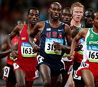Friidrett ,  Olympiske Leker / OL / 2008 23.08.2008 <br /> Norge- Russland<br /> 5000 m: Bernard Lagat , USA