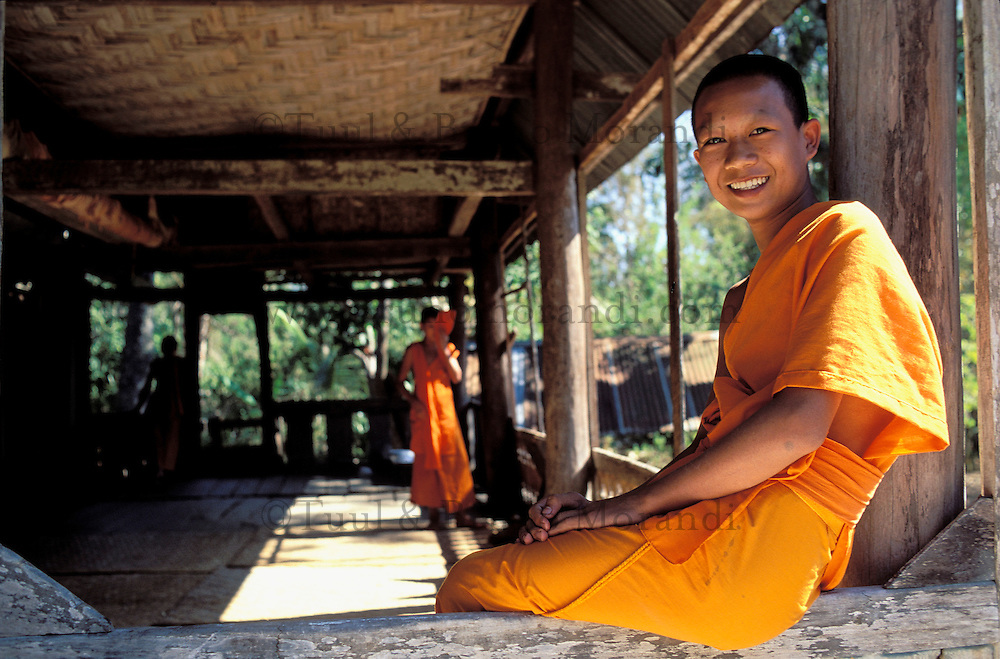 Buddhist monk - Luang Prabang - Lao People's Democratic Republic