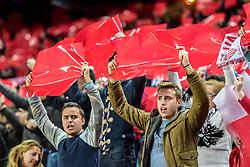 17.03.2016, Estadio Ramon Sanchez Pizjuan, Sevilla, ESP, UEFA EL, Sevilla FC vs FC Basel, Achtelfinale, Rueckspiel, im Bild Sevilla Fans // during the UEFA Europa League Round of 16, 2nd Leg match between Sevilla FC and FC Basel at the Estadio Ramon Sanchez Pizjuan in Sevilla, Spain on 2016/03/17. EXPA Pictures © 2016, PhotoCredit: EXPA/ Freshfocus/ Andy Mueller<br /> <br /> *****ATTENTION - for AUT, SLO, CRO, SRB, BIH, MAZ only*****