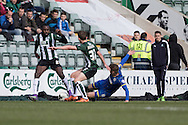 Jake Reeves midfielder for AFC Wimbledon (8) during the Sky Bet League 2 match between Plymouth Argyle and AFC Wimbledon at Home Park, Plymouth, England on 9 April 2016. Photo by Stuart Butcher.