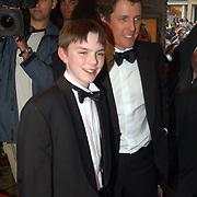 Premiere About a boy, Hugh Grant and Nicholas Hoult