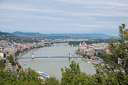 View of Danube River, Budapest, Hungary
