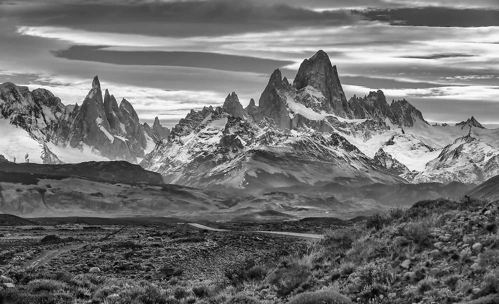 Cerro Torre and Fitz Roy, Los Glaciares National Park, Argentina