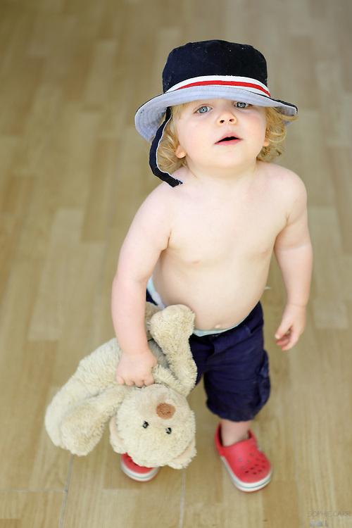 A friend's son Joshua, aged 18 months