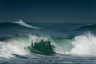 Breacking waves at Maagan michael beach