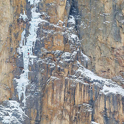 Jon Walsh and Michelle Kadatz climbing Superlite M6 WI5 in Protection Valley, Banff National Park, Canada featured in an ice photo essay of mine in Rock and Ice 267 - Canada Ice - page 79.jpg