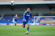 AFC Wimbledon midfielder Cheye Alexander (7) chasing through ball during the EFL Sky Bet League 1 match between AFC Wimbledon and Lincoln City at Plough Lane, London, United Kingdom on 2 January 2021.