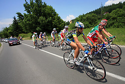Riders during 1st stage of the 15th Tour de Slovenie from Ljubljana to Postojna (161 km) , on June 11,2008, Slovenia. (Photo by Vid Ponikvar / Sportal Images)/ Sportida)