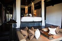 Beautiful spacious rooms at the Nam Hai, Hoi An, Vietnam.
