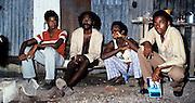 Youth in a Kingston Yard