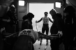 February 8, 2019 - …Re, SWEDEN - 190208 Zack Monsén and Filip Platter of Sweden at a men's downhill training session during the FIS Alpine World Ski Championships on February 8, 2019 in Ã…re..Photo: Joel Marklund / BILDBYRÃ…N / kod JM / 87852 (Credit Image: © Joel Marklund/Bildbyran via ZUMA Press)
