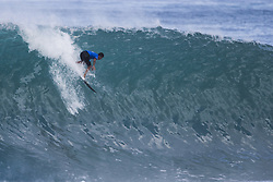December 11, 2017 - Banzai Pipeline, HI, USA - BANZAI PIPELINE, HI - DECEMBER 11, 2017 - Miguel Pupo of Brazil competes in the first round of the Billabong Pipe Masters. (Credit Image: © Erich Schlegel via ZUMA Wire)