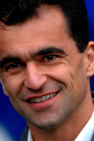 Photo: Paul Greenwood.<br />Tranmere Rovers v Swansea City. Coca Cola League 1. 10/03/2007.<br />Reaction from Swansea manager Roberto Martinez
