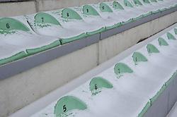 View on the Stadium on February 22, 2013 in Fazanerija, Murska Sobota, Slovenia. (Photo by Ales Cipot / Sportida)
