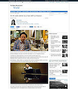 2015 11 21 Tearsheet Sydney Morning Herald Portrait of Salvatore Malatesta St Ali Indonesia