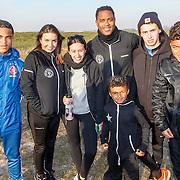NLD/Biddinghuizen/20150308 - De Hollandse 100 by Lymph & Co, Patrick Kluivert, partner Rosanna Lima dochter Demi en Nino en kinderen Quincy, Justin, Ruben, Shane