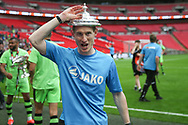 Forest Green Rovers strength and conditioning coach Tom Huelin during the Vanarama National League Play Off Final match between Tranmere Rovers and Forest Green Rovers at Wembley Stadium, London, England on 14 May 2017. Photo by Shane Healey.