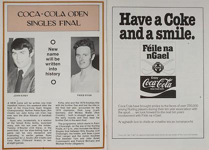 All Ireland Senior Hurling Championship - Final,.07.09.1980, 09.07.1980, 7th Spetember 1980,.Galway 2-15, Limerick 3-9,.07091980ALSHCF,..Coca Cola,