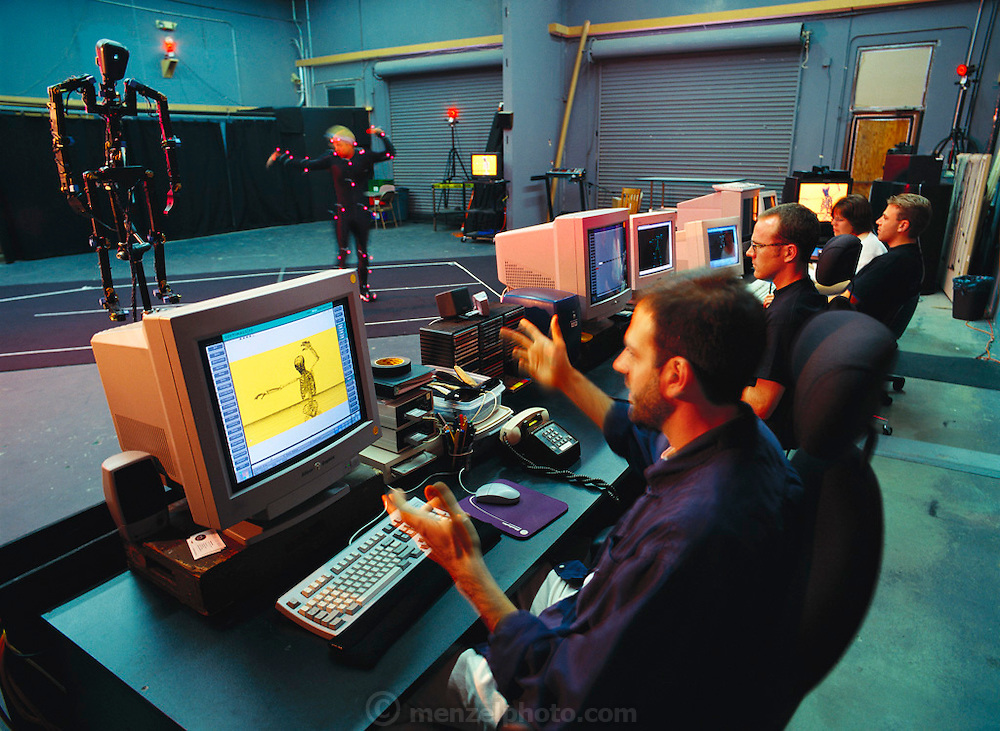 Industrial Light and Magic. Motion Capture Studio. (1998)