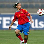 Spain's Alexandra LOPEZ during their UEFA 2013 Woman's Euro Qualifying Group Stage Group 2 soccer match Turkey betwen Spain at Kasimpasa Recep Tayyip Erdogan stadium in Istanbul September 17, 2011. Photo by TURKPIX
