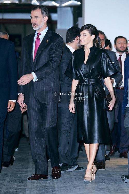 King Felipe VI of Spain, Queen Letizia of Spain attend the Opening of ARCO 2019 at IFEMA on February 28, 2019 in Madrid, Spain