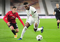 Football - 2021 UEFA European Under-21 Championships - Qualifying - Group 3 - England vs Albania - Molyneux<br /> <br /> Callum Hudson - Odoi of England<br /> <br /> COLORSPORT/ANDREW COWIE