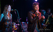 Anderson East and his band perform at The Basement in Nashville, TN.