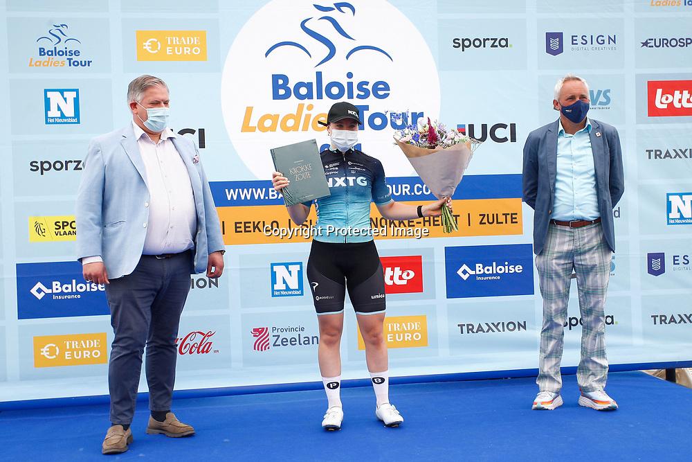 KNOKKE HEIST (BEL) July 10 CYCLING: 2nd Stage Baloise Belgium tour: Charlotte Kool