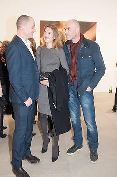 DINOS CHAPMAN; NATALIA VODIANOVA; JASON BROOKS, This is not an Exit. Mat Collishaw. Blain Southern. Hanover Sq. London. 13 February 2013.