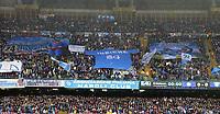 Striscione dei Tifosi del Napoli su Lorenzo Insigne Napoli, banner, fans, supporters  <br /> Napoli 14-05-2016 Stadio San Paolo<br /> Football Calcio Serie A 2015/2016 Napoli - Frosinone<br /> Foto Cesare Purini / Insidefoto